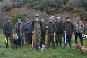 Keeper and beaters at Fenton Brunt Club